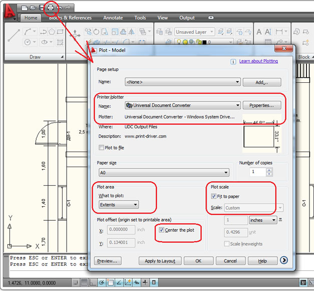 open pdf in autocad