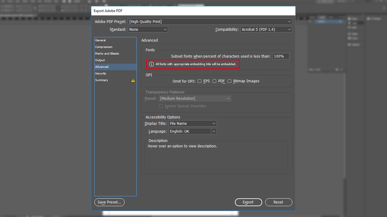 photoshop export pdf