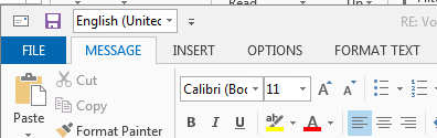 outlook not adding to dictionary
