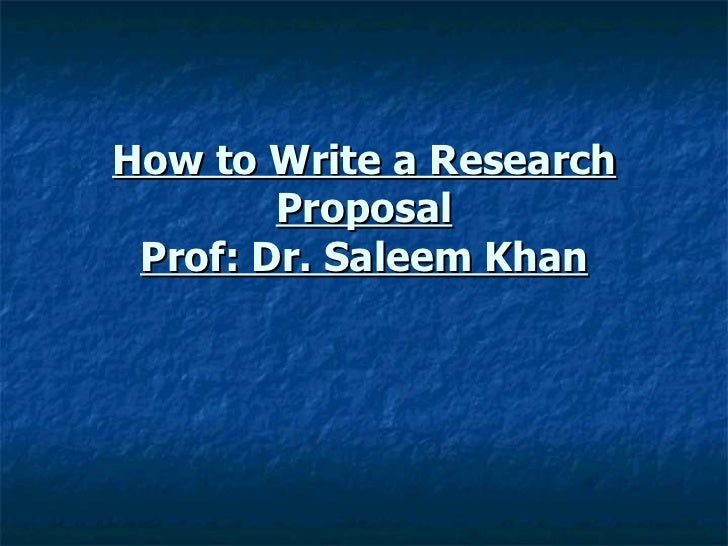 zoology research proposal sample