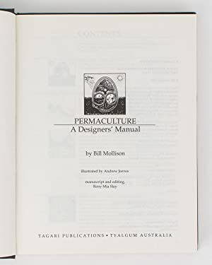 permaculture a designers manual by bill mollison tagari publications 1988