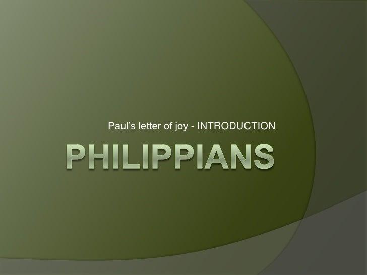 philippians 1 application