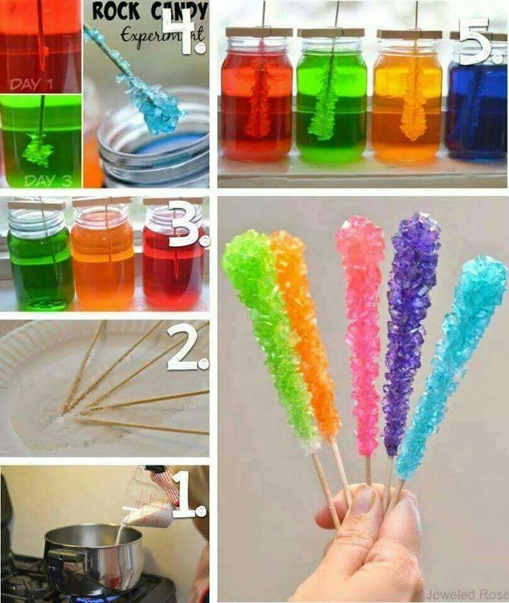 rock candy experiment instructions