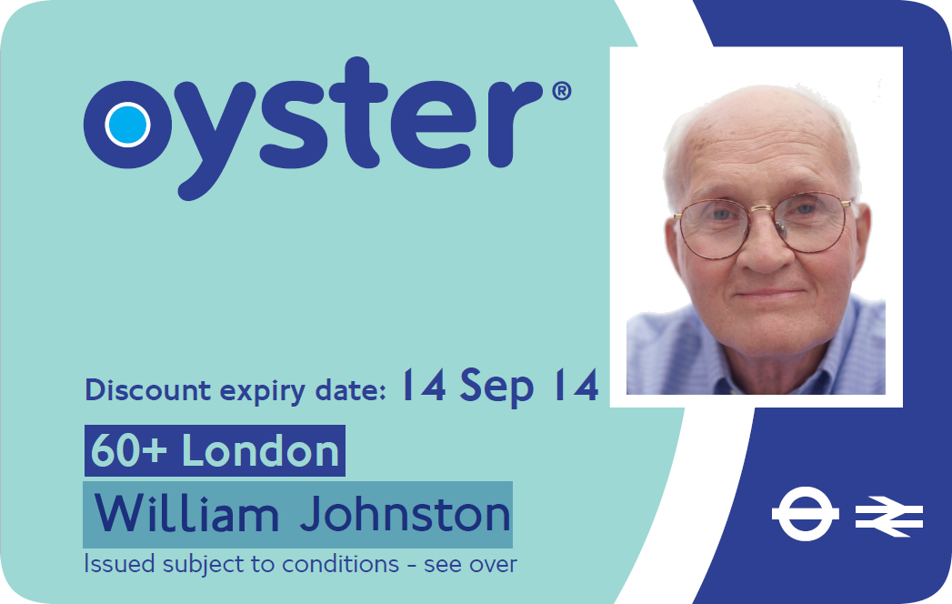 oyster card application form