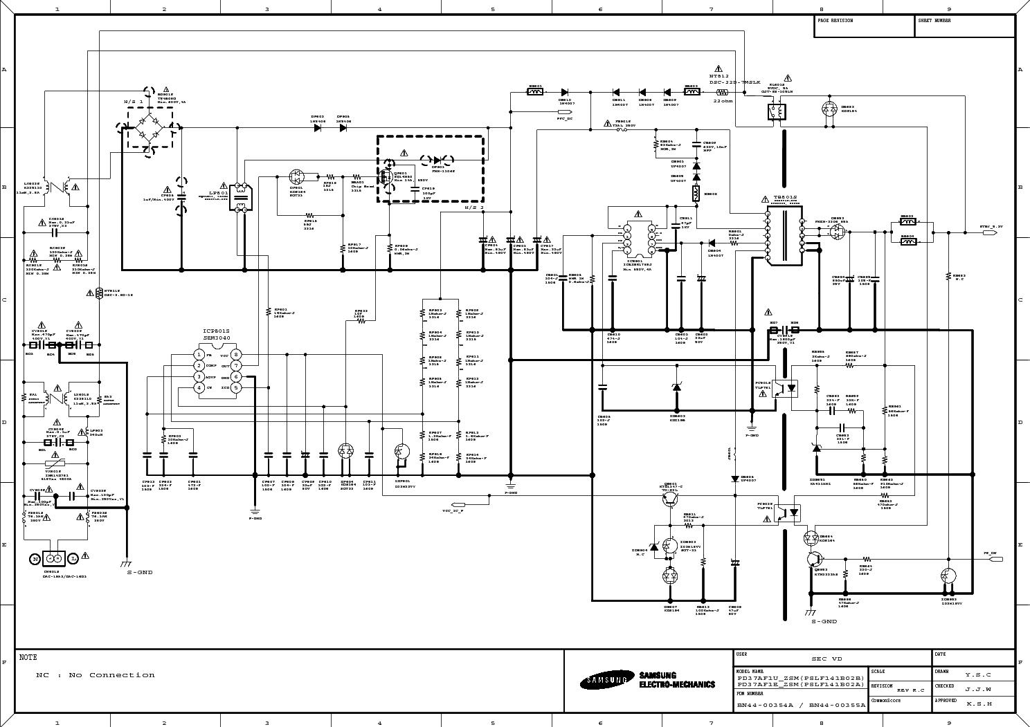 samsung sw80usp service manual