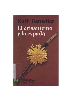 ruth benedict patterns of culture pdf