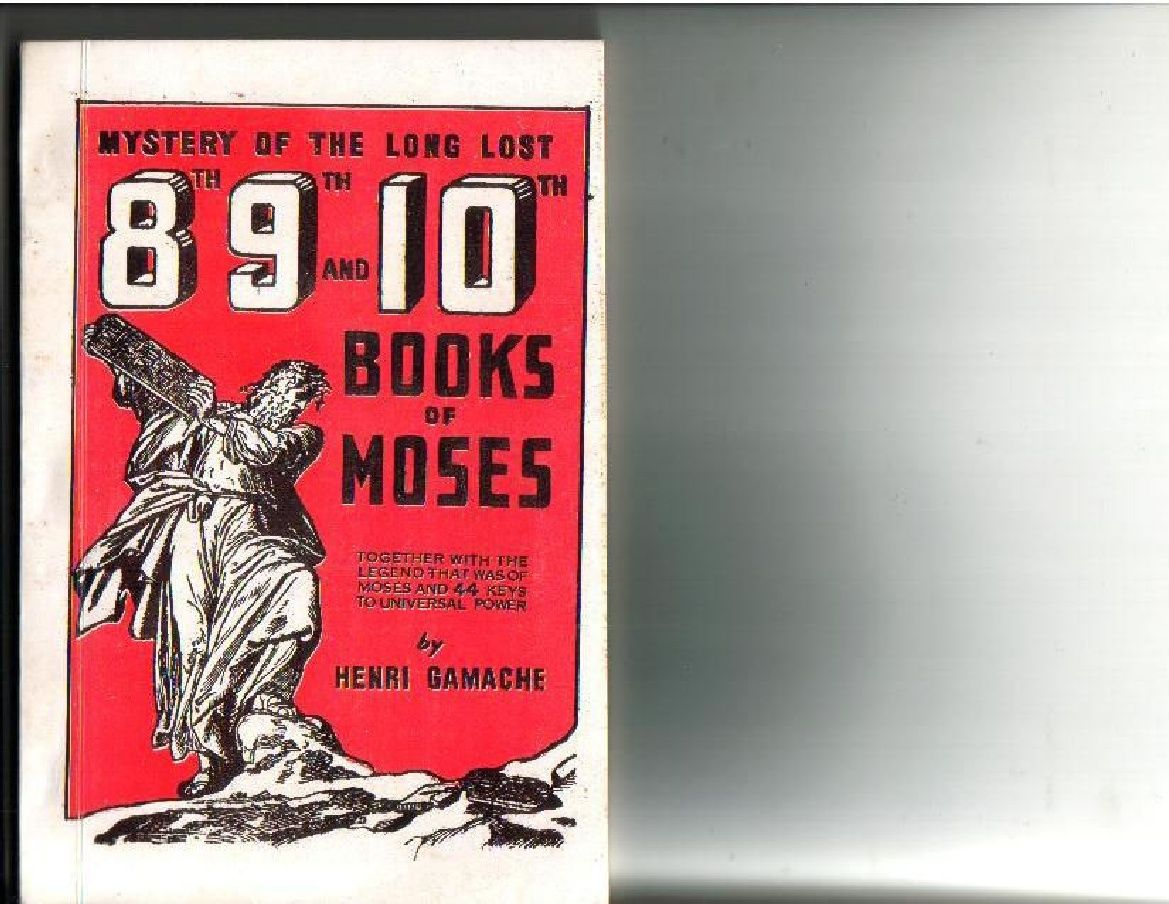 the lost book of moses pdf