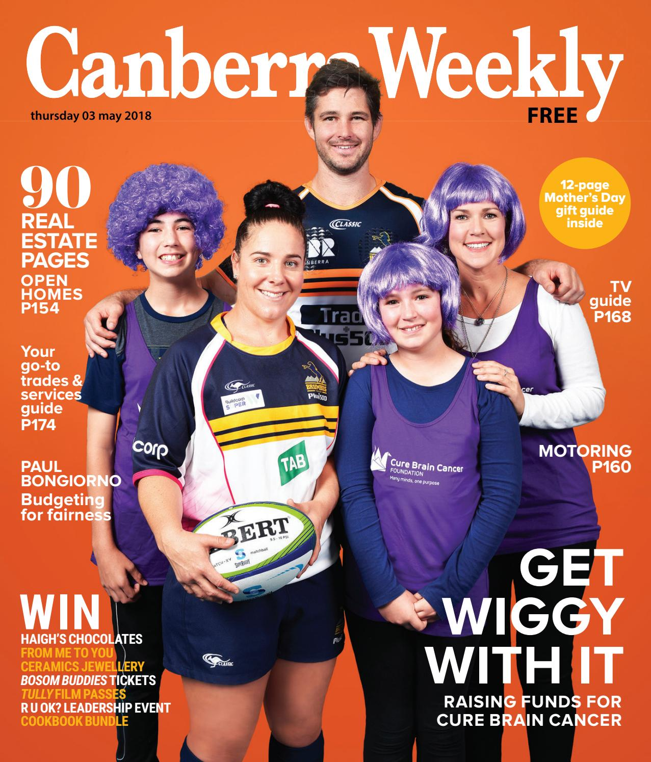 tv guide canberra