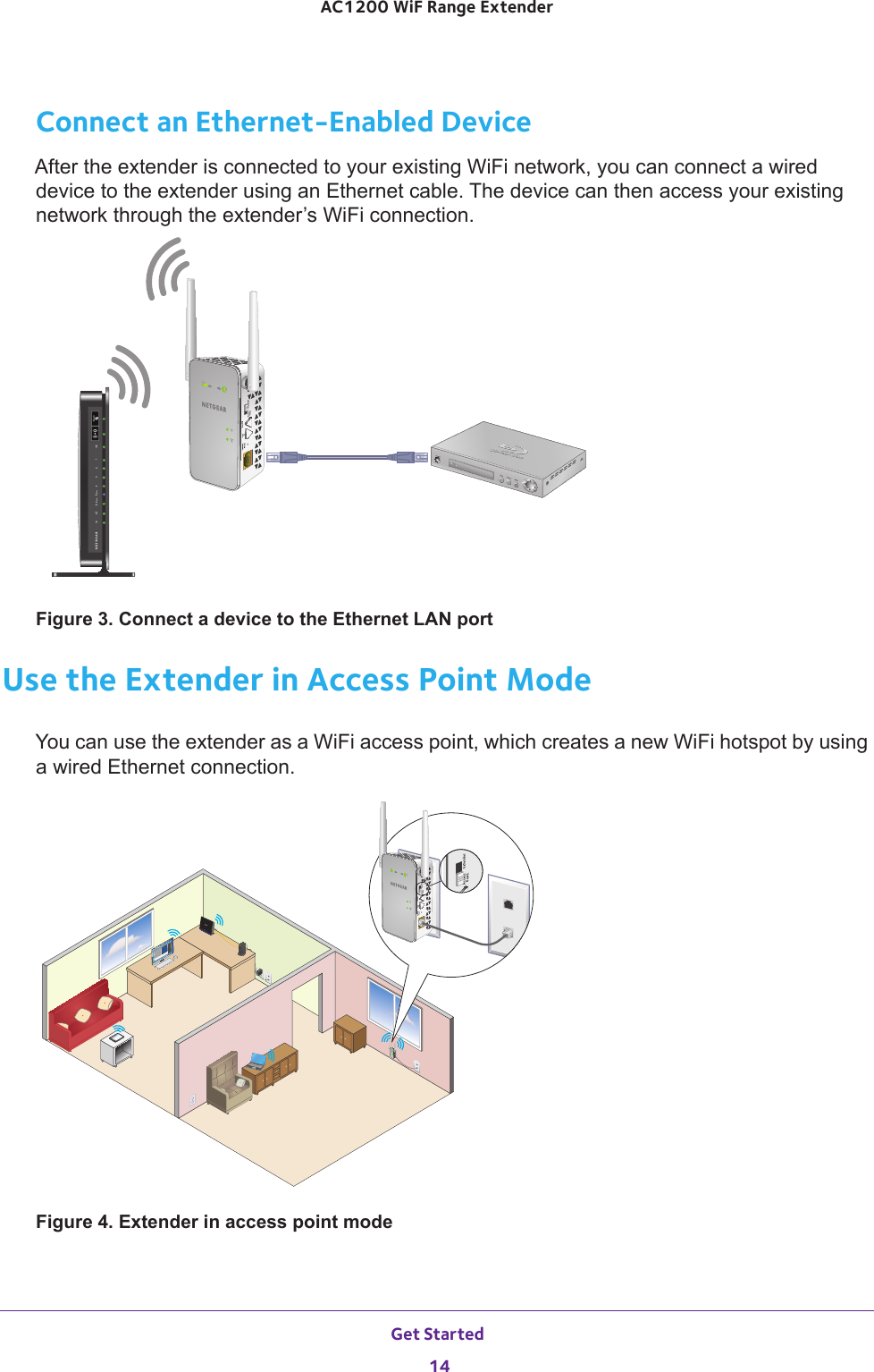 netgear wifi extender ac1200 manual
