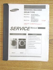 samsung washing machine manual book