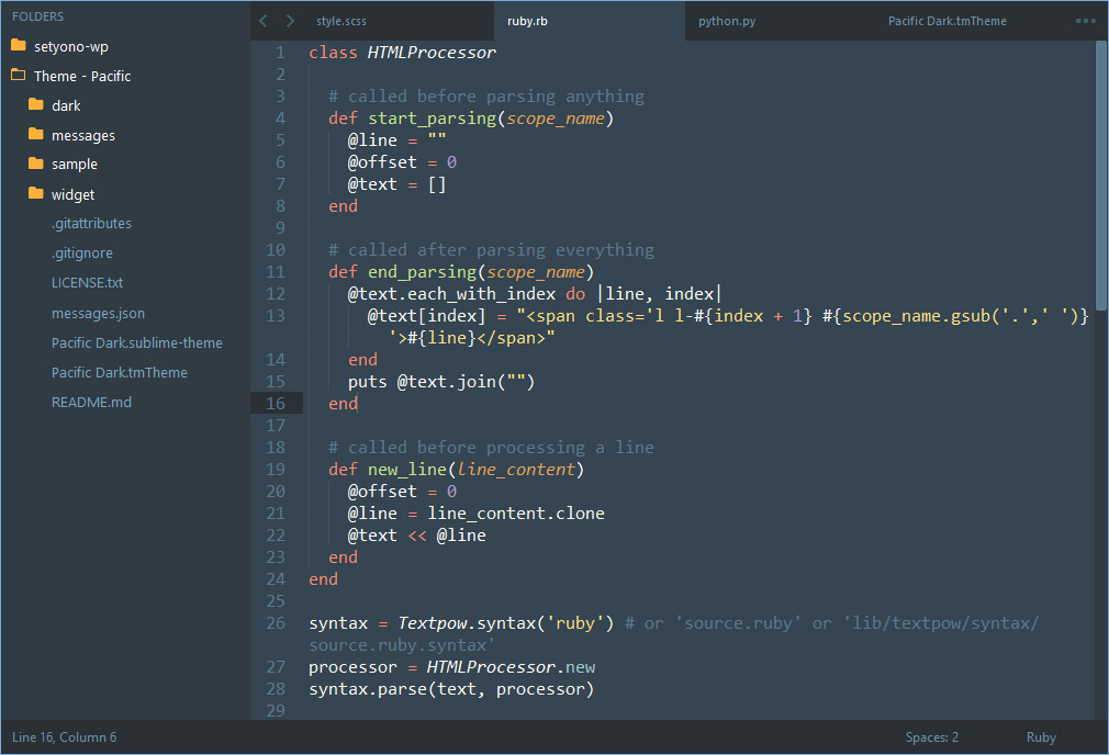 sample on text file ruby