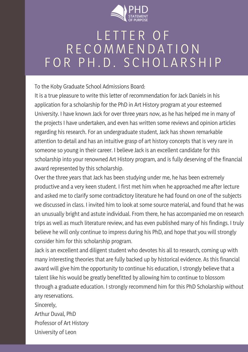 sample scholarship recommendation letter4