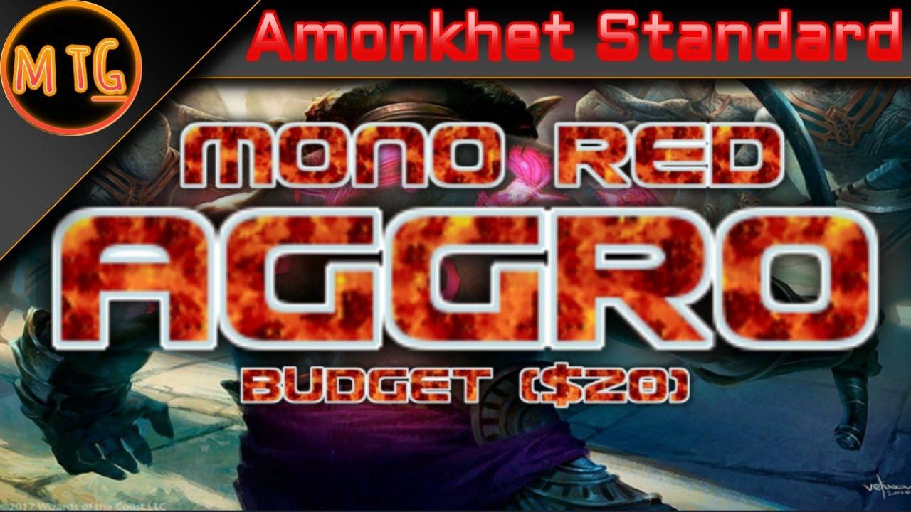 mono red aggro deck guide