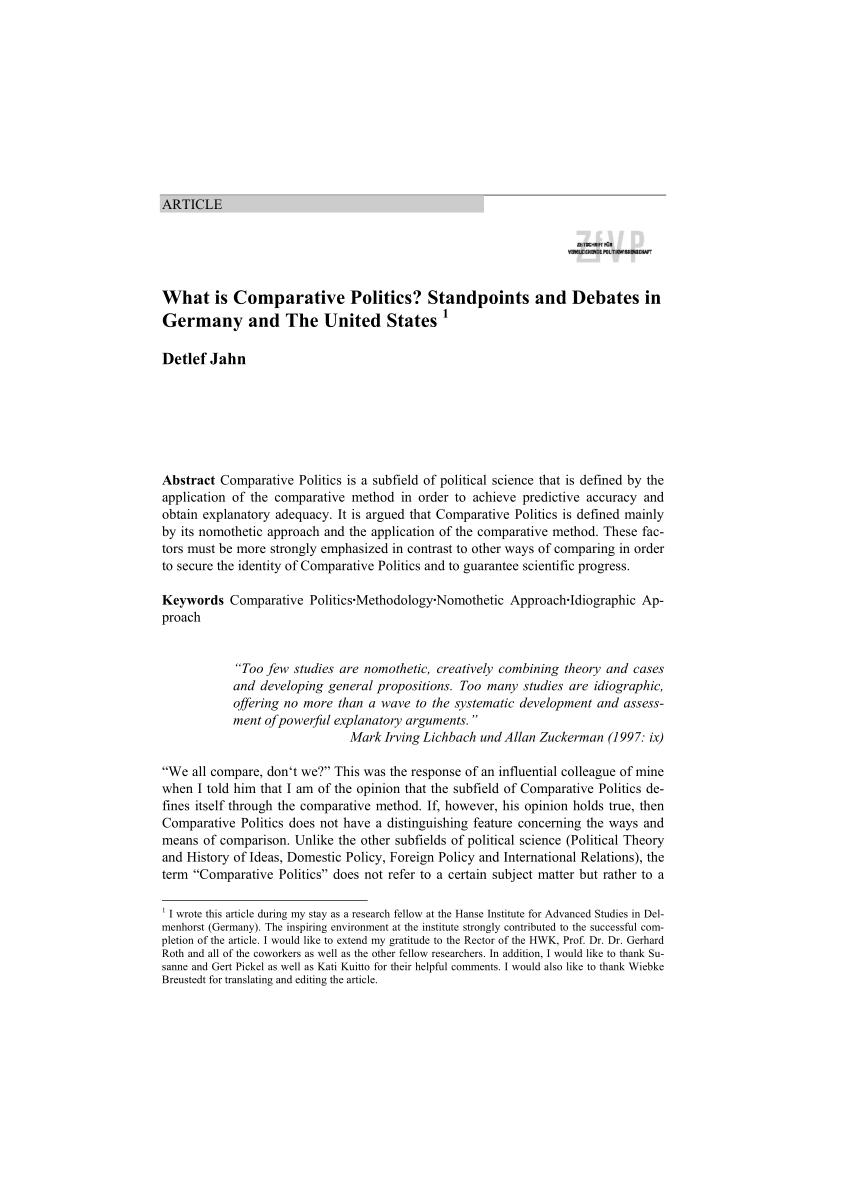 what is politics pdf