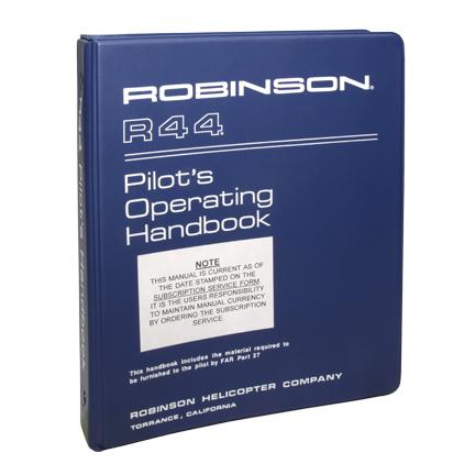 r44 maintenance manual