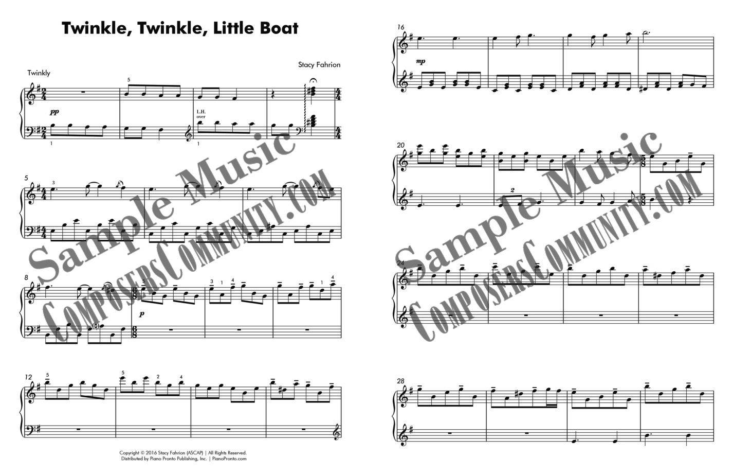 twinkly music sample