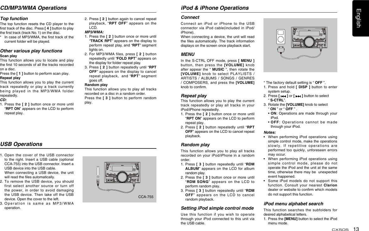 transonic mp3 player manual