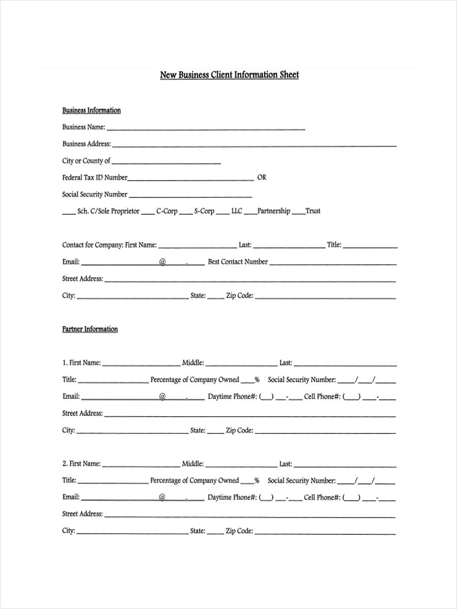 new client form pdf format