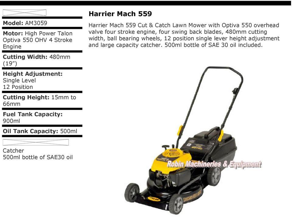 talon lawn mower am3050 manual