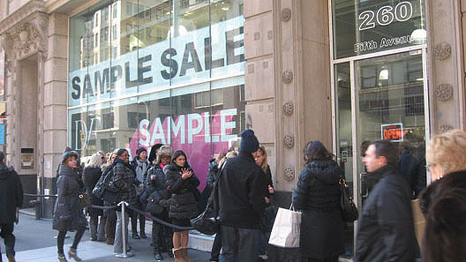 sample sale companies in nyc