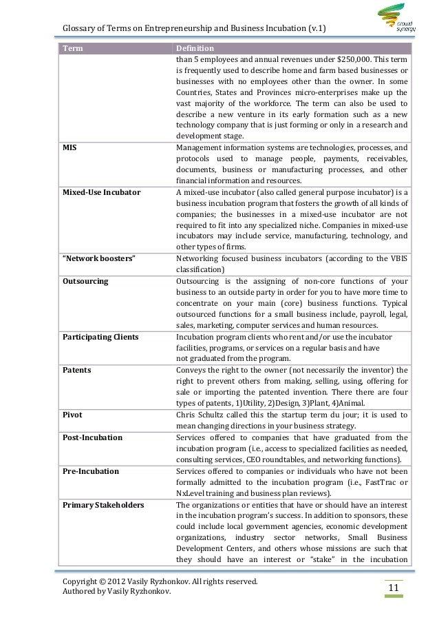 udl glossary