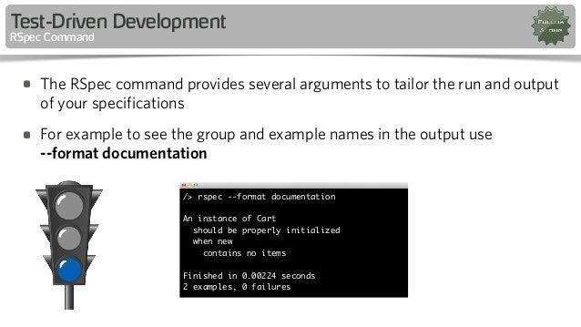 rspec format documentation