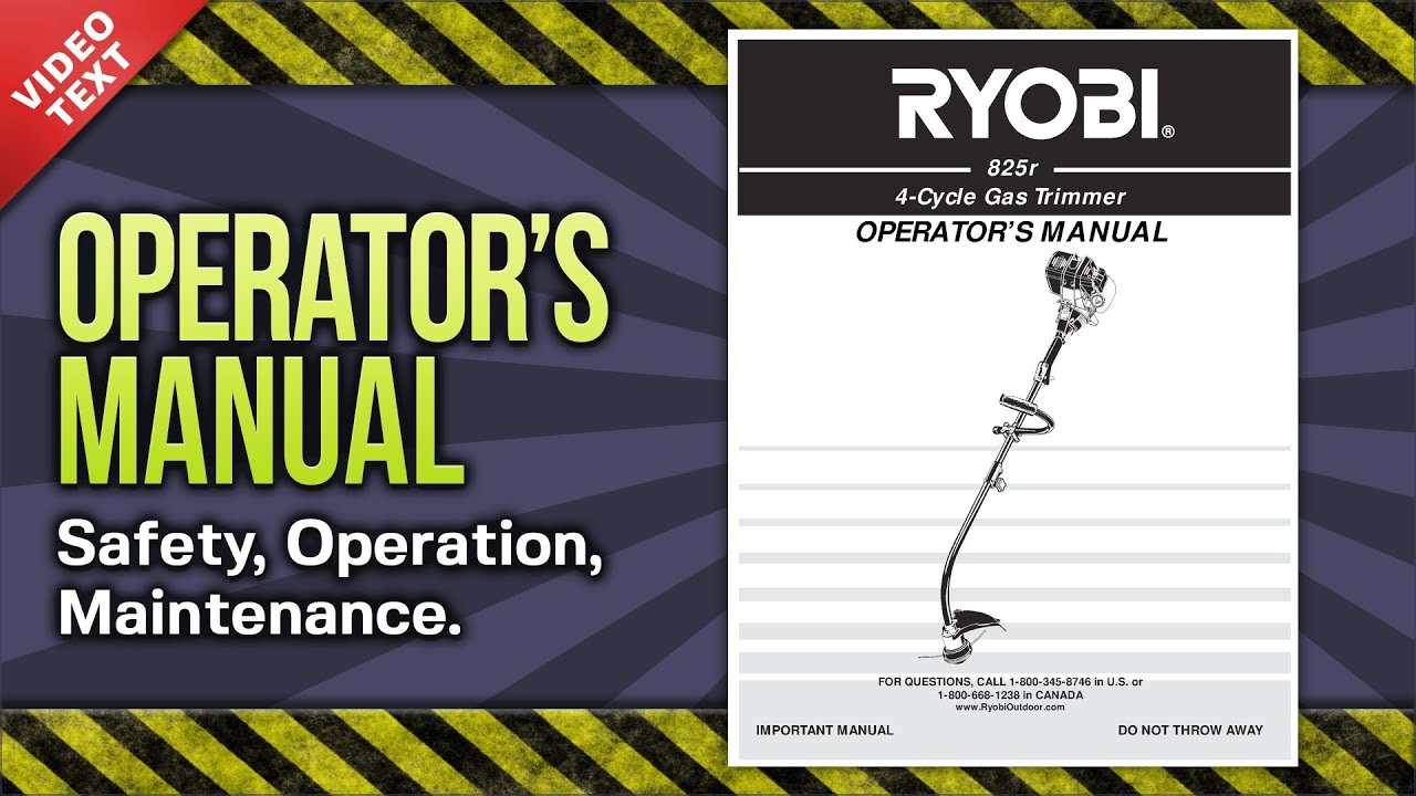 rht36 instruction ryobi manual