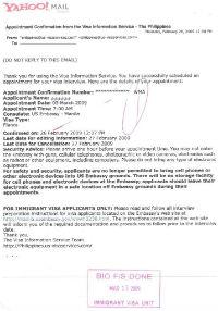 us embassy manila visa application
