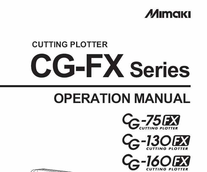mimaki cutting manual