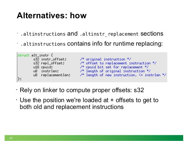 x86 call instruction example