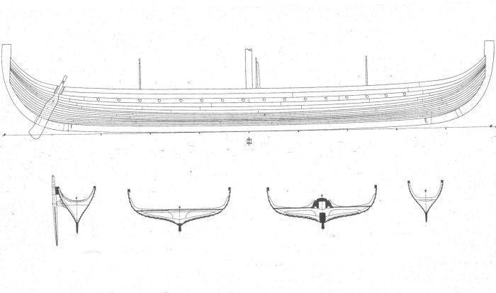 viking ship plans pdf