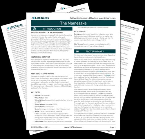 the namesake analysis pdf