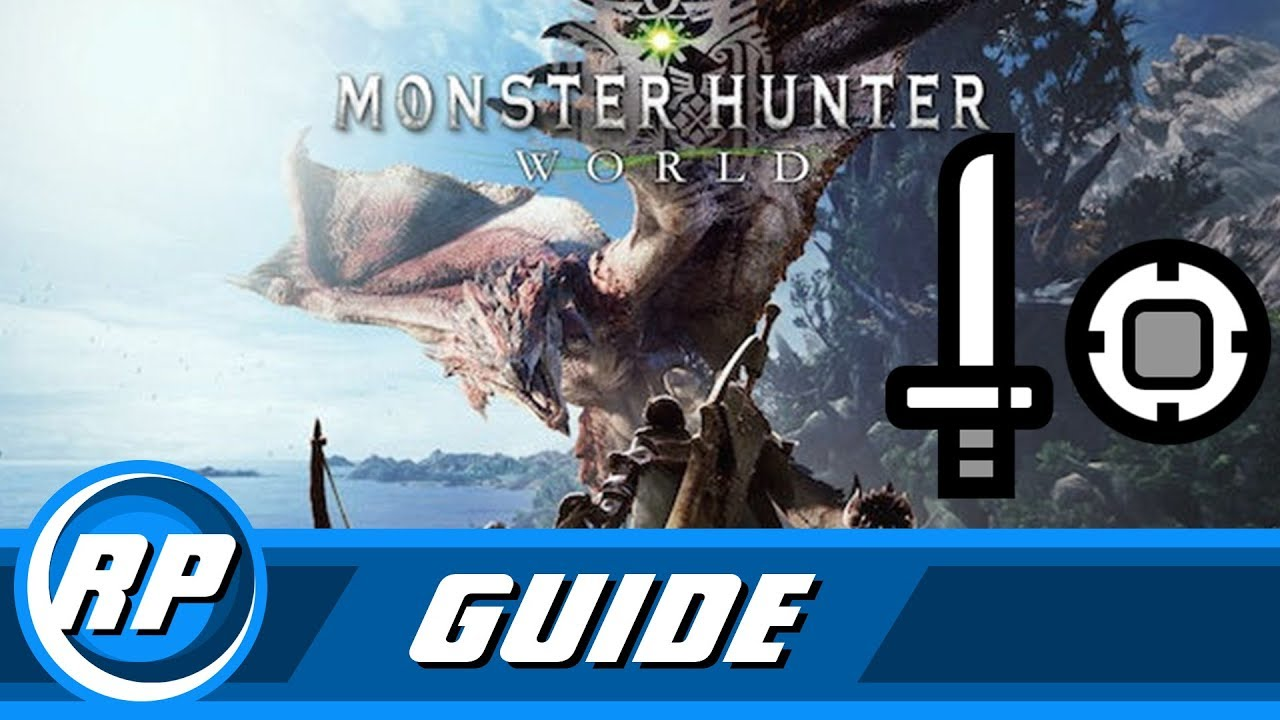 monster hunter world sowd and shield guide