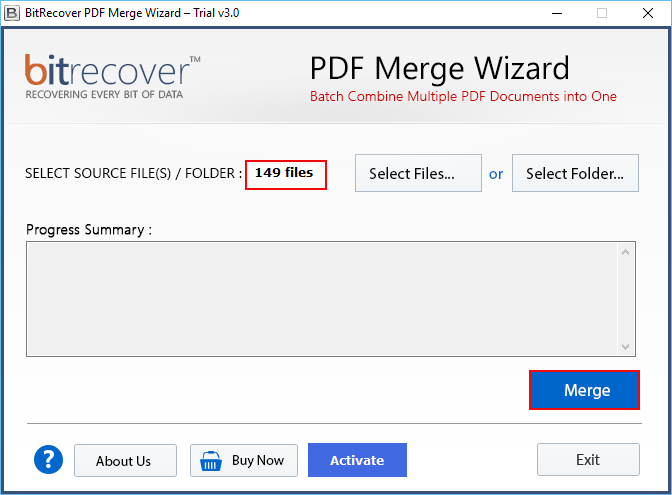 merge pdf documents into one