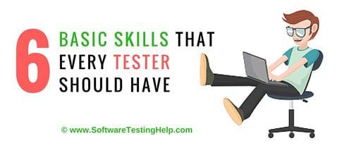 skill of manual tester