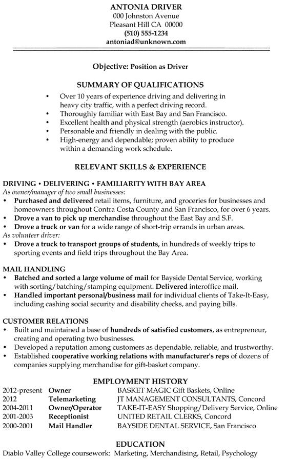 online store owner resume sample
