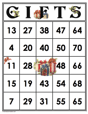 traditions bingo instructions