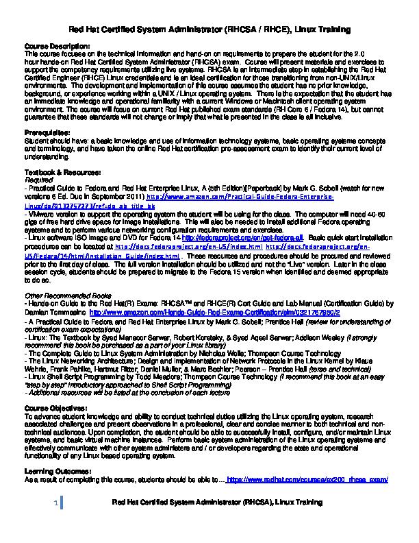 rhcsa pdf