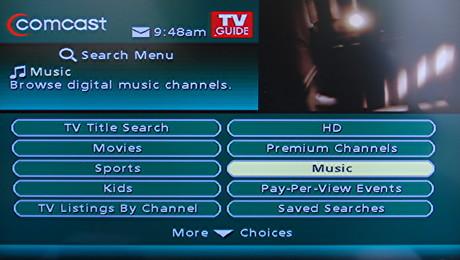 music choice tv guide
