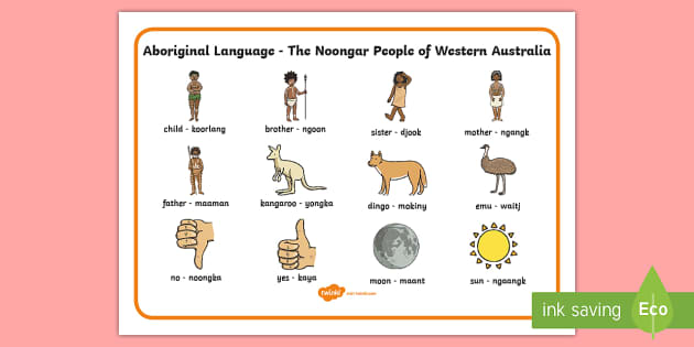 native australian language dictionary