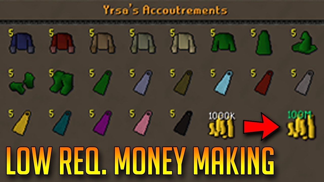osrs f2p money making guide 2018
