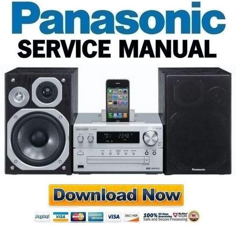 panasonic sa pm 250 service manual