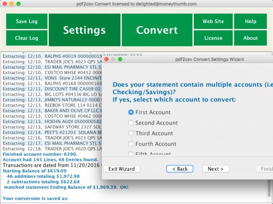 pdf to csv converter mac