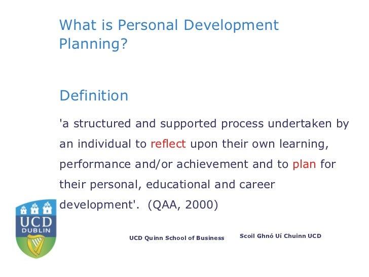 personal development definition pdf