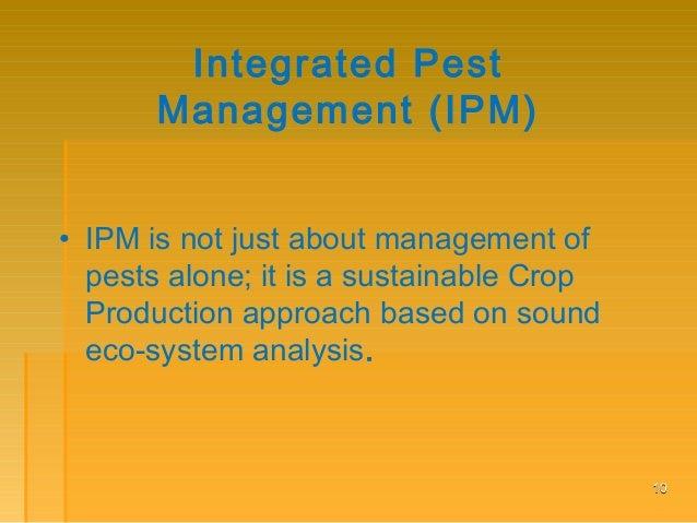 principles of integrated pest management pdf