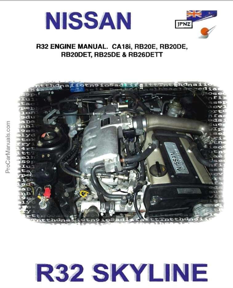 r32 gtr service manual english
