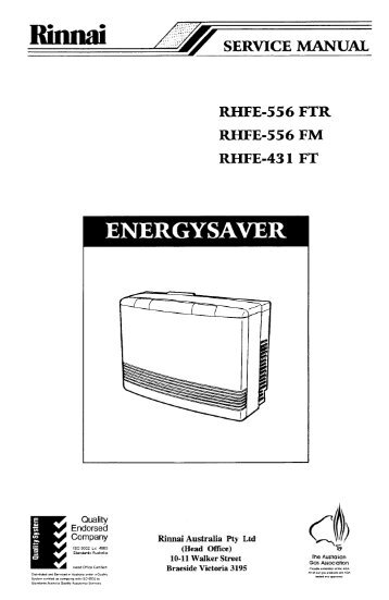 rinnai 556ftr manual