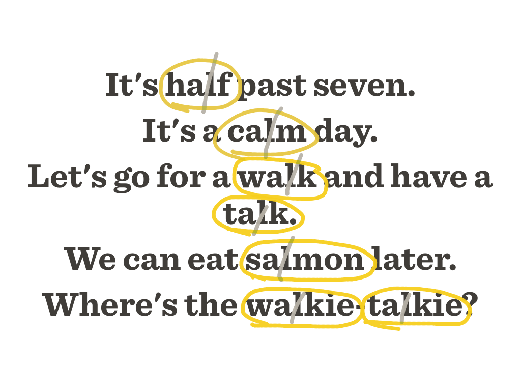 salmon pronunciation dictionary