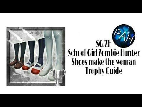 school girl zombie hunter trophy guide