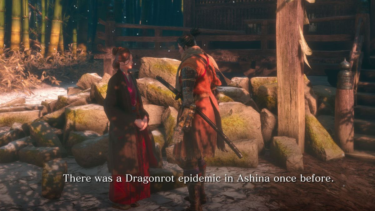sekiro dragon rot blood sample